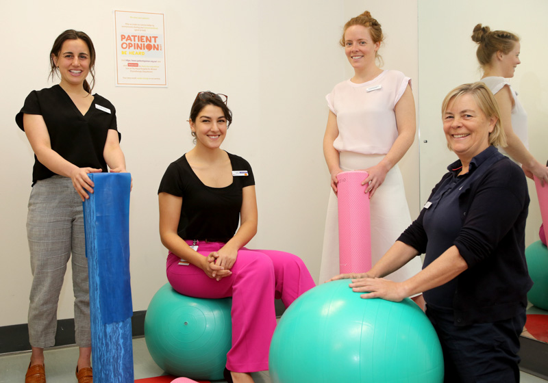 Royal Hospital for Women pelvic health physiotherapy team