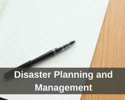 Disaster Planning and Management
