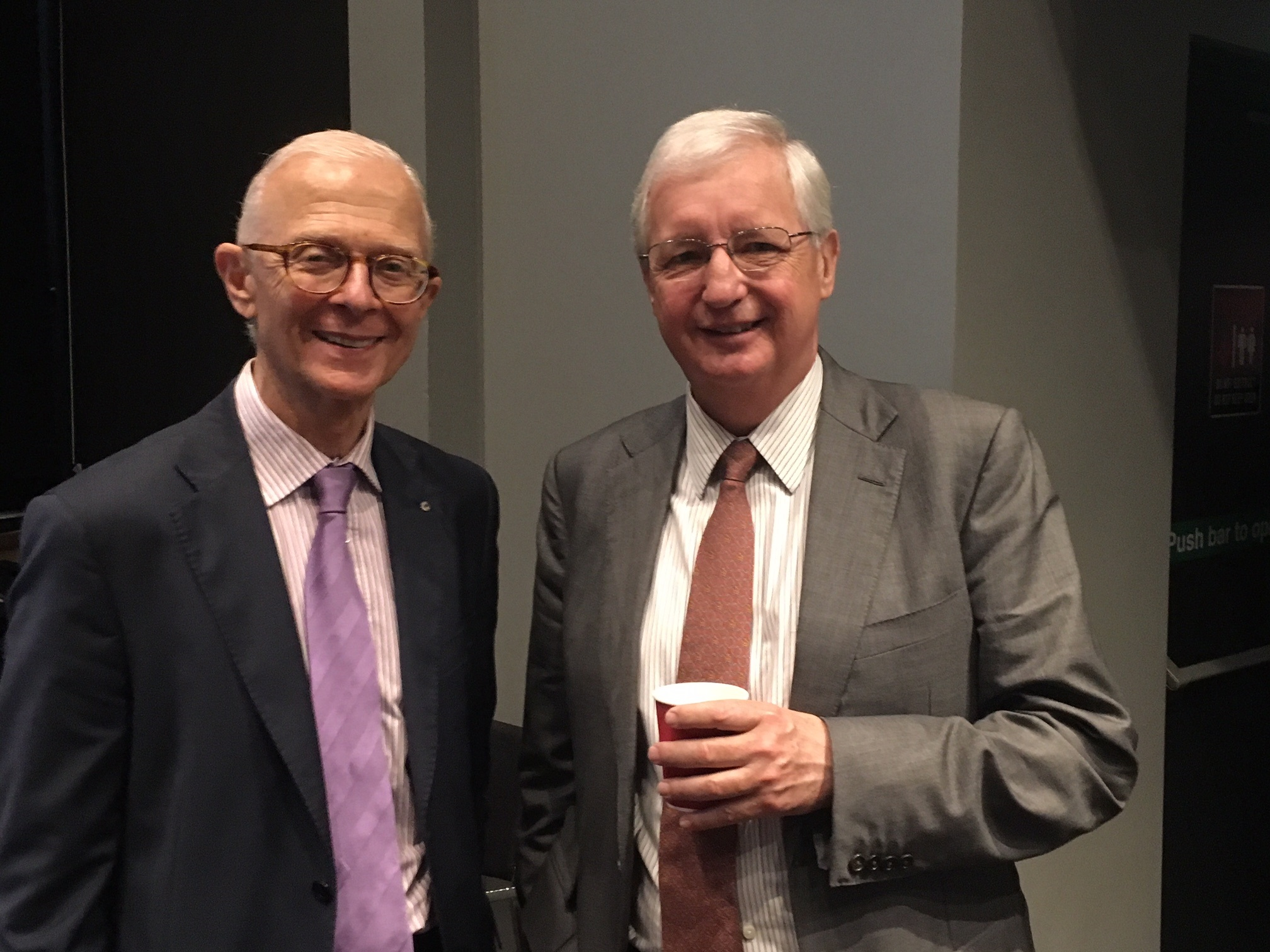 Professor Henry Brodaty and Michael Still (Chairman SESLHD)