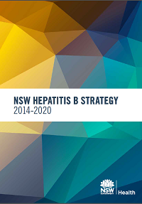 Cover of the NSW Hepatitis B Strategy