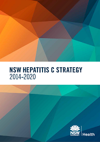 Cover of the NSW Hepatitis C Strategy