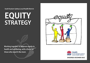 Cover of the SESLHD Equity Strategy 2015