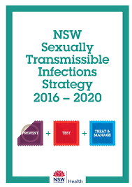 Cover of the NSW STI Strategy 2016 - 2020