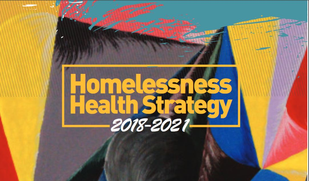 Cover of Homlessness Health Strategy