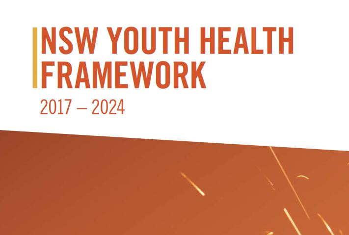 Cover of the NSW Youth Health Framework