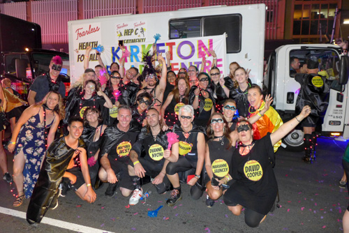 Kirketon Road Team at 2019 Mardi Gras