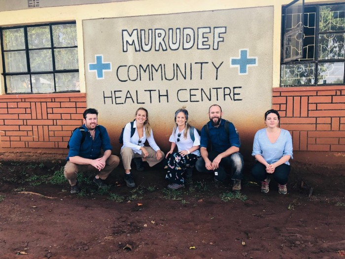 St George Hospital medical staff in Africa