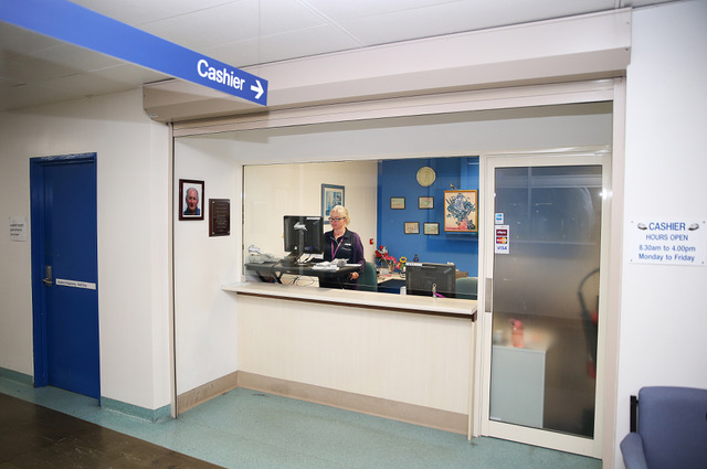 Photo of cashier